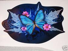 Blue Tribal Butterfly Car Truck Window Decal Decals Sticker Butterflies