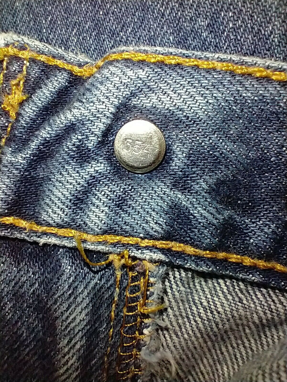 Levi's 505 Jean's Made in the USA Men's size 36x3… - image 8