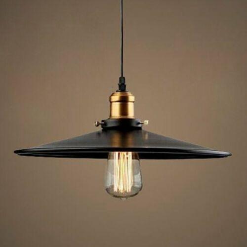 DE Vintage Deckenlampe Leuchte Pendelleuchte Hängelampe Industrie Pendellampe