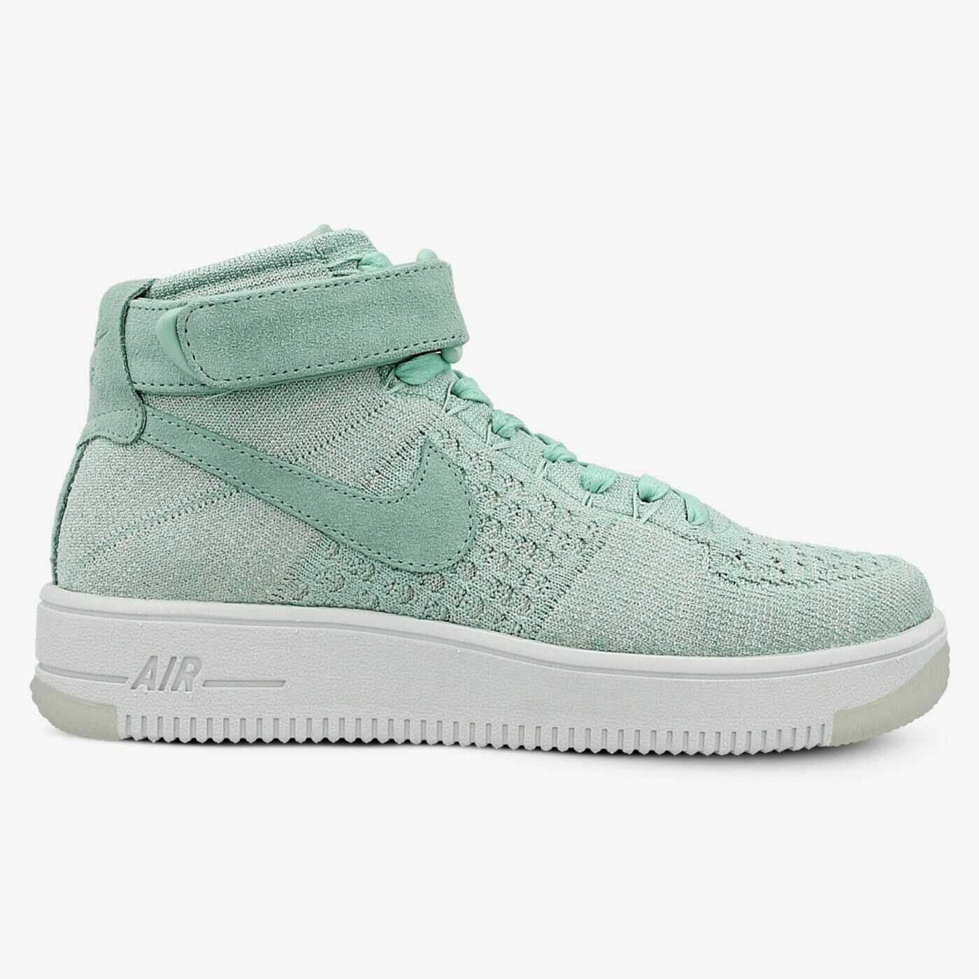 New Womens Nike Air Force 1 Flyknit UK Size 5    Mint Green Trainers