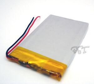 Lithium 3.7V 1200 mAh Li-polymer rechangeable Li-Po ion 053759 for GPS PSP MP5