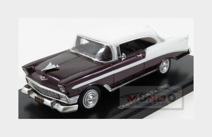 Chevrolet Bel Air 1956 Purple Met White Neoscale 1 43 NEO47035 Model