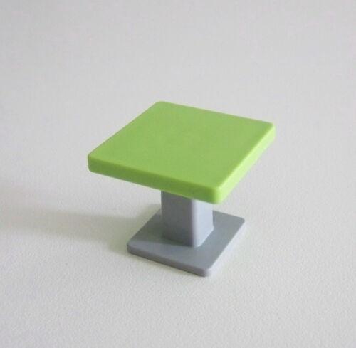 HOPITAL PLAYMOBIL Petite Table Verte /& Pied Gris Grand Hôpital 4404 Y1227