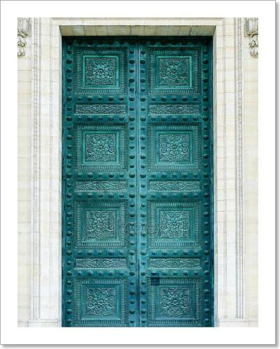 Pantheon Doors In Paris Art Print Home Decor Wall Art Poster G