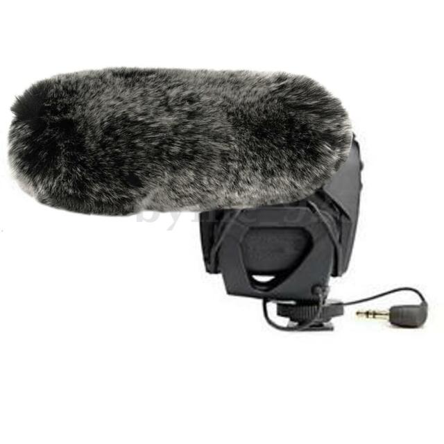 16.5cm/6.5'' Furry Microphone Windscreen Wind Cover Muff for Rode VideoMic PRO