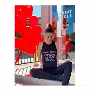 Heart-Foundation-Shirts-amp-Tanks-You-039-re-Never-Too-Young-It-039-s-Never-Too-Late