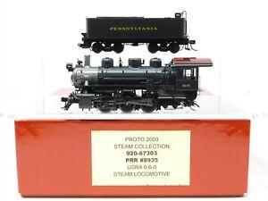 HO-Scale-Walthers-Proto-920-67303-PRR-Pennsylvania-0-6-0-Steam-Locomotive-8935
