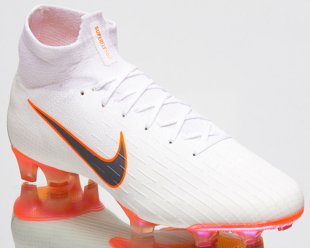 Nike Mercurial Superfly 360 Elite FG Men Soccer Football Cleats blanc AH7365-107 Chaussures de sport pour hommes et femmes