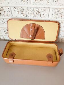 sale now Vanity Box Genuine Cowhide Leather Make-Up Art Toiletry ...
