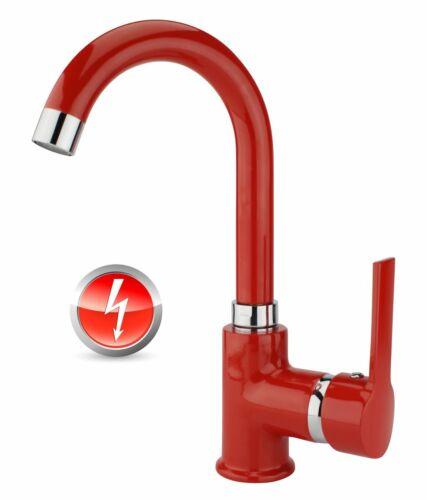 Niederdruck rot Rondo Küche EHM Küchenarmatur Armatur Spültischarmatur Einhebel