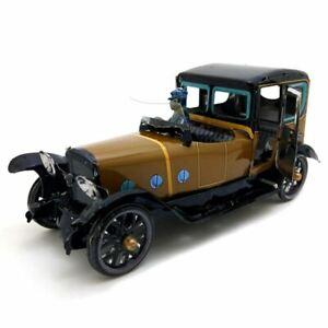 Jouet-Mecanique-Ancien-Metal-Chauffeur-Driven-Saloon-Collection-Cadeaux-pou-U3N3