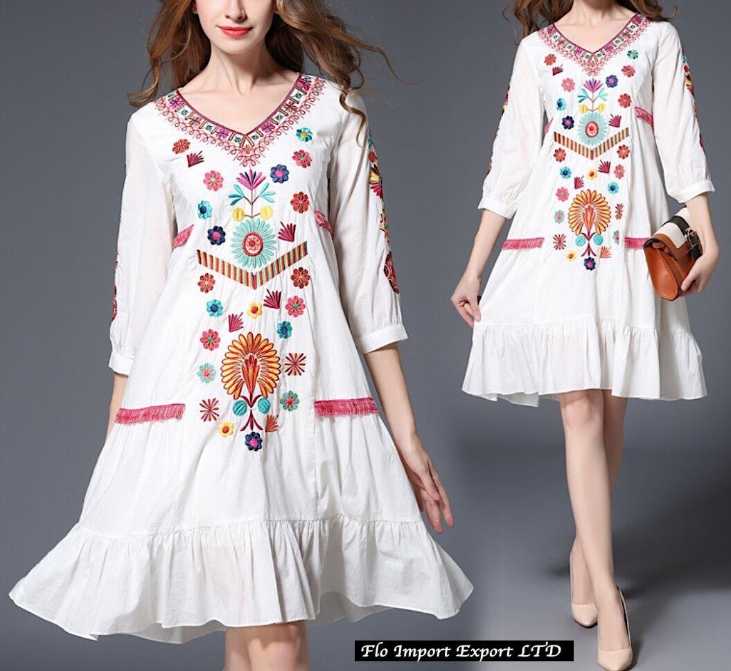 Kleid Strandkleid Frau Kaftan Besteickt Frau Cover up Kaftan Kleid 110237