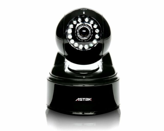 Astak Mole WiFi Network Remote Surveillance Security Camera with Remote Access