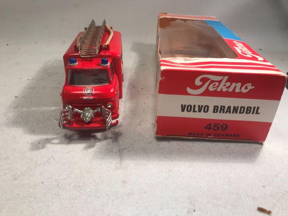 Modelbil, Tekno Volvo Brandbil Nr 459
