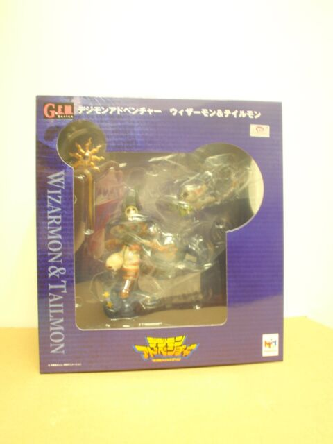 Megahouse Gem Digimon Adventure Wizarmon & tailmon figura Digital monstruo G.e.m