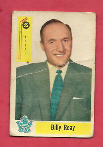 1958-59-PARKHURST-25-LEAFS-BILLY-REAY-COACH-CARD