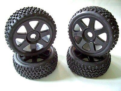 HPI VORZA Flux 4 Reifen mit Felgen 107383 / 107855 - Neu
