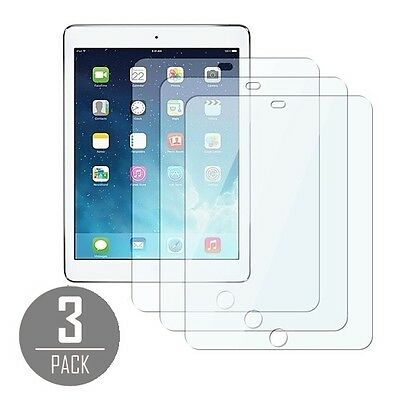3X Front Transparent Clear LCD Cover Screen Protector for Apple iPad Air
