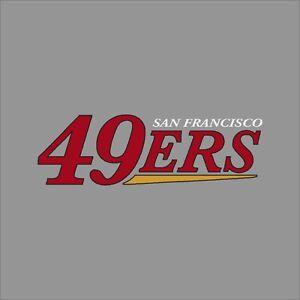 San Francisco 49ers 4 Nfl Team Logo Vinyl Decal Sticker