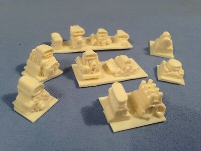 New Offering! HO Slot Car Blower and Engine Stack Lot #2