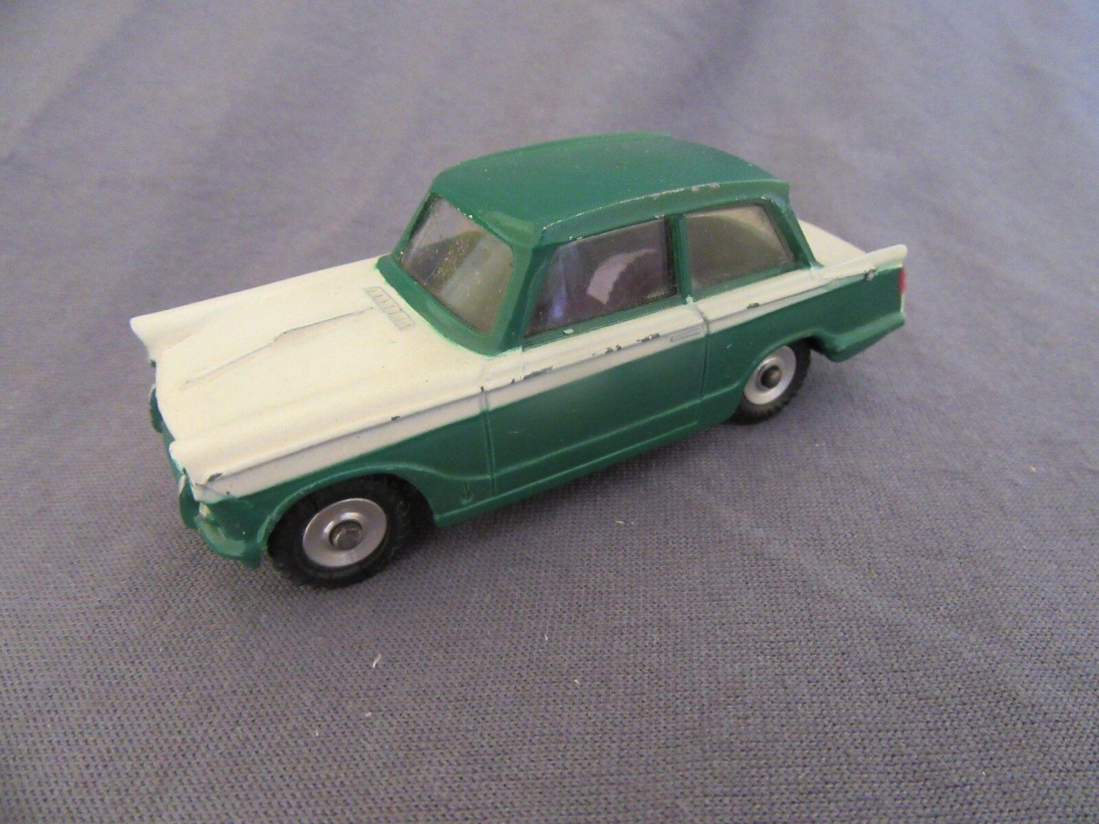 826F Vintage Dinky 189 Triumph Herald Vert Blanc 1 43