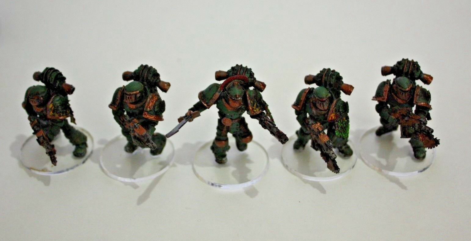 Warhammer 30k Space Marines Salamanders Mark III Squad x5 Forge World