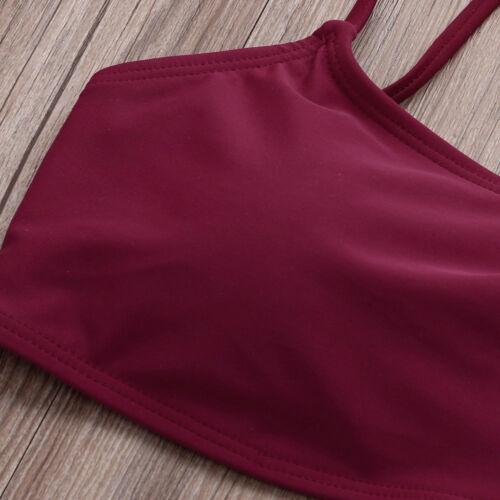 Mujeres Bikini Conjuntos Sujetador Acolchado Tanga Pantalones Ropa de Baño Traje de Baño 2 piezas de este conjunto CL
