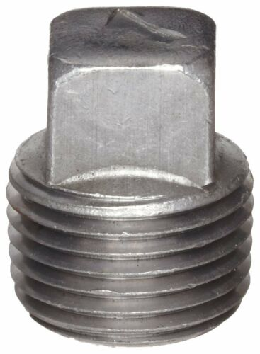 "High Pressure Steel Fitting 1//2/"" Plug  Square Head 5000 psi"