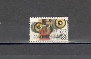 USA-98-AEREA-OLIMPIADI-SOLLEVAMENTO-PESI-MAZZETTA-DI-25-VEDI-FOTO