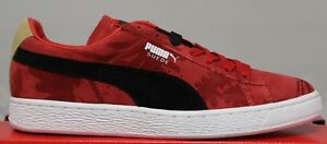 new style 59142 5aeed Details about Men's Puma Suede Classic Tropicali 356151 06 High Risk Red  Black Brand New