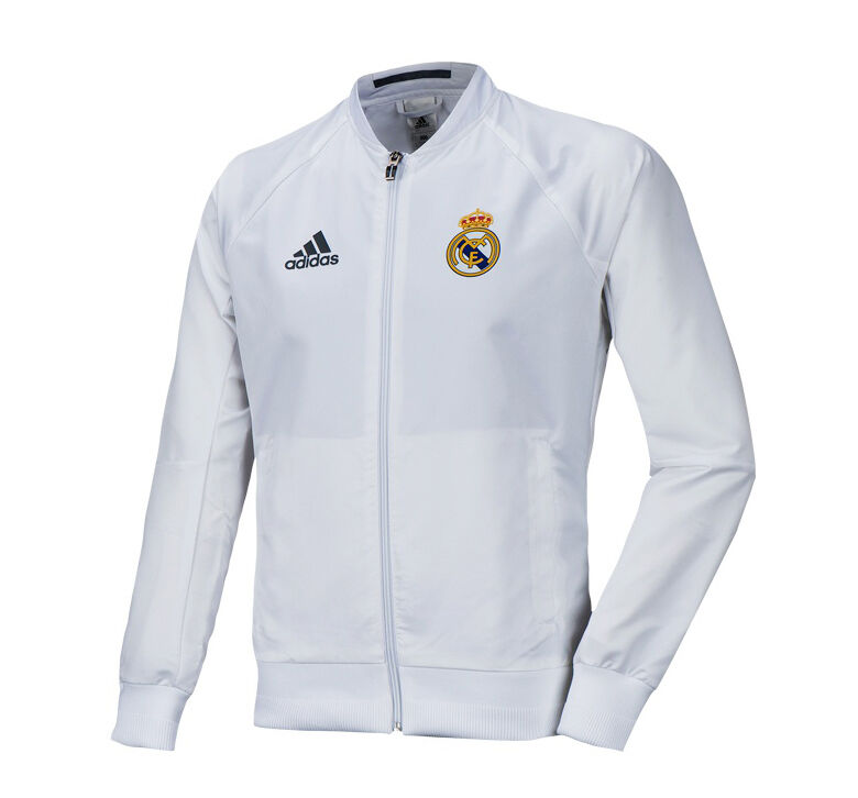 Adidas Real Madrid Woven Anthem Jacket Training Top AI4661 Soccer Footbtutti