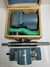 Horizontal Milling Attachment R8 With Support 50 Dovetail Amp Arbor Slightly Used