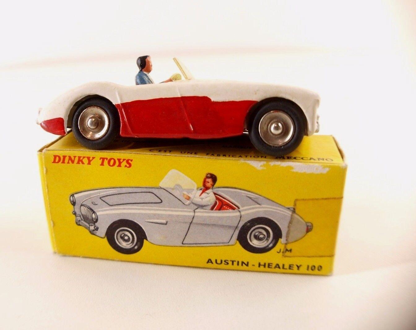 Dinky toys F nº 546 austin healey 100 repainted in box