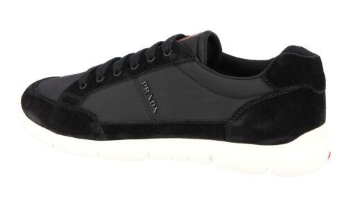 Luxueux 40 Nouveaux 40 5 4e3222 Prada Chaussures Noir 6 p7xqvan
