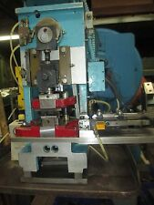 Artos Back Flywheel Terminal Cut Off Power Press Model Ae W Air Feed Amp Die Set