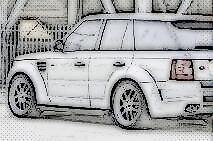 MADE IN GERMANY Range Rover SPORT Adjustable Lowering Kit Links