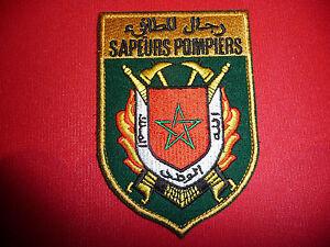 Feuerwehr-Armelabzeichen-Abzeichen-Marokko