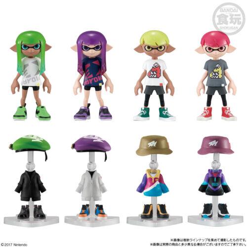 Splatoon 2 Fashion Doll Kisekae Gear Collection 3 Complete Set BANDAI JP P1072