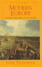 A History of Modern Europe: From the Renaissance to the Present by Merriman, Jo