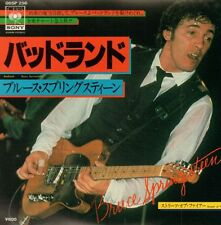 "Bruce Springsteen(7"" Vinyl P/S)Streets Of Fire-CBS-06SP 256-Japan-1978-Ex+/NM"
