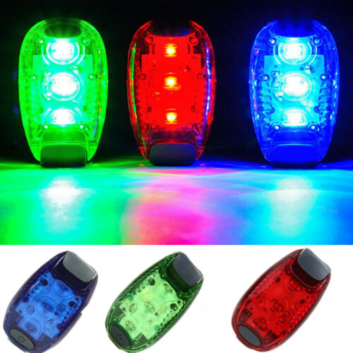 New Bike Light Taillight Warning Bicycle Rear Lamp Backpack Helmet Running Light