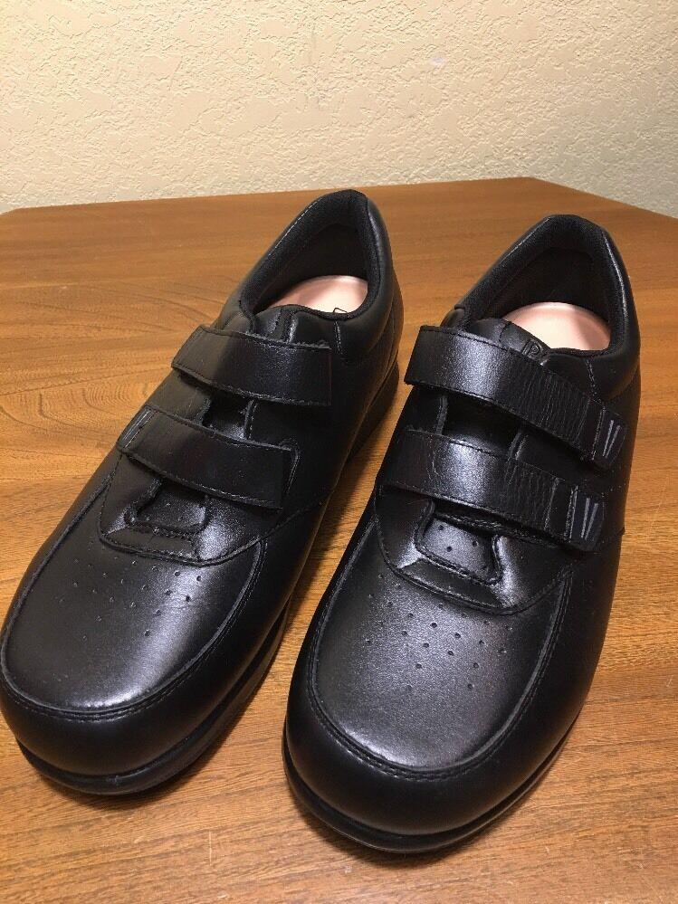 Propet M3915 Leather Black Walking Shoes 11.0 XX (5E) NWOT Diabetic