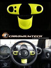 MK2 MINI R55 R56 R57 R58 R59 R60 R61 YELLOW Multi Function Steering Wheel Cover