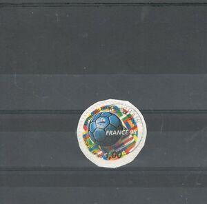 FRANCIA-1998-CAT-3140-MONDIALI-CALCIO-USATO-AUTOADESIVO-MAZZETTA-DA-20