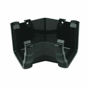 Floplast Niagara Ogee Gutter Internal 135 Degree Angle RAN3B Black