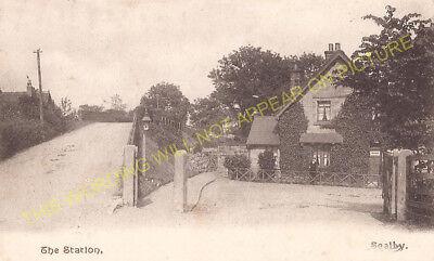 Scalby Railway Station Photo Scarborough 1 Cloughton Ravenscar Line.