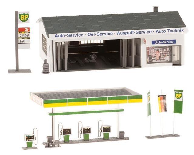 Faller 130591 h0 Kit station-service brandshof