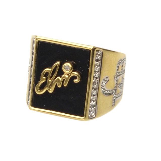 Elvis Presley 'TCB' Signature Ring