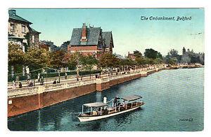 The-Embankment-Bedford-Photo-Postcard-c1910