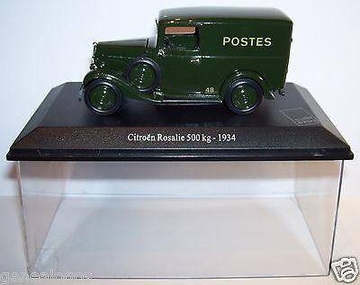 UNIVERSAL HOBBIES CITROEN 2CV 2 CV AZU 1962 POSTES POSTE PTT BOX 1//43 occasion